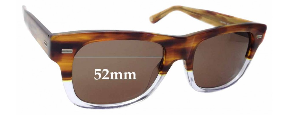 Sunglass Fix Sunglass Replacement Lenses for Gucci GG1078/S - 52mm Wide