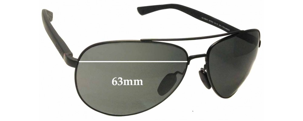 Sunglass Fix Sunglass Replacement Lenses for Gucci GG2266/S - 63mm Wide