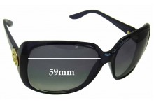 Sunglass Fix Sunglass Replacement Lenses for Gucci GG 3166 - 59mm Wide