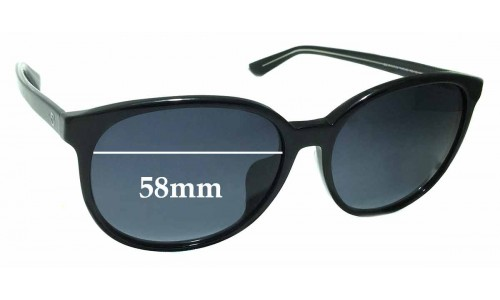 Sunglass Fix Sunglass Replacement Lenses for Gucci GG 3733/F/S - 58mm wide