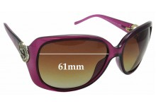 Sunglass Fix Sunglass Replacement Lenses for Gucci GG 3548/S - 61mm Wide