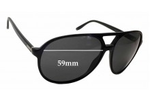 Sunglass Fix Sunglass Replacement Lenses for Gucci GG 1026/S - 59mm Wide