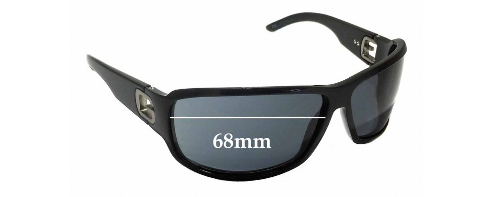 Sunglass Fix Sunglass Replacement Lenses for Gucci GG 1583/S - 68mm Wide