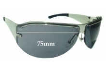 Sunglass Fix Sunglass Replacement Lenses for Gucci GG1728/S - 75mm Wide **The Sunglass Fix Cannot Provide Lenses For This Model Sorry**