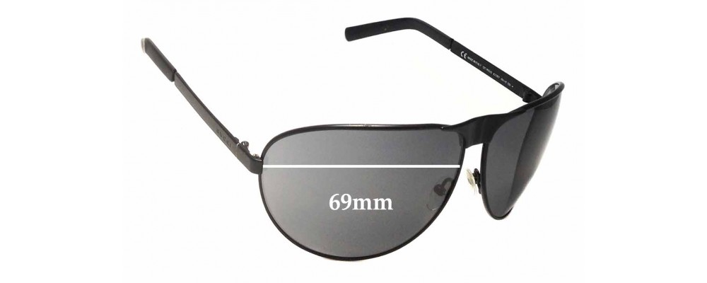Sunglass Fix Replacement Lenses for Gucci GG1813/S - 69mm Wide