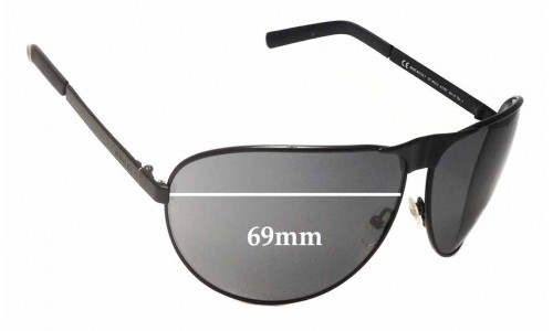 Sunglass Fix Sunglass Replacement Lenses for Gucci GG1813/S - 69mm wide