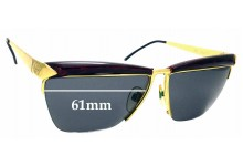 Sunglass Fix Sunglass Replacement Lenses for Gucci GG2311/S - 61mm Wide