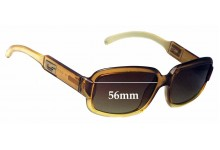 Sunglass Fix Sunglass Replacement Lenses for Gucci GG2475/S - 56mm Wide