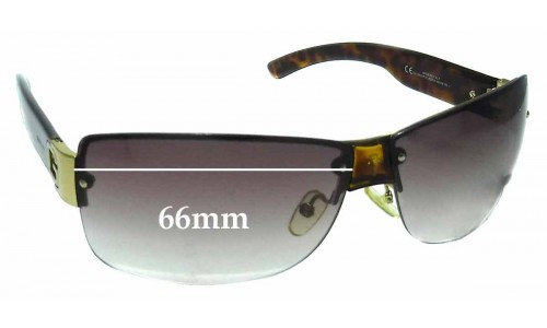 Sunglass Fix Sunglass Replacement Lenses for Gucci GG2803/F/S - 66mm Wide