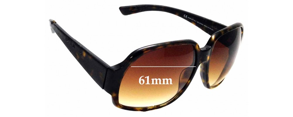 Sunglass Fix Sunglass Replacement Lenses for Gucci GG 2948/S - 61mm Wide
