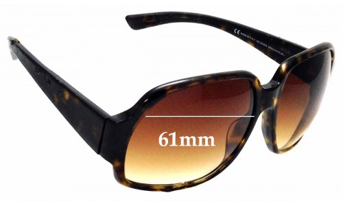 Sunglass Fix Sunglass Replacement Lenses for Gucci 2948/S - 61mm wide
