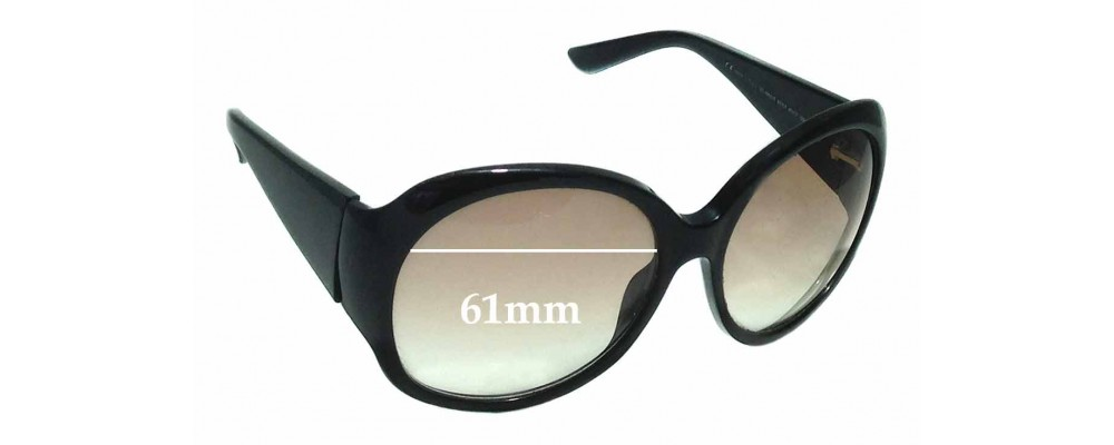 Sunglass Fix Replacement Lenses for Gucci GG2952/S - 61mm Wide