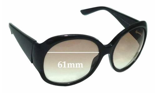 Sunglass Fix Sunglass Replacement Lenses for Gucci GG 2952/S - 61mm