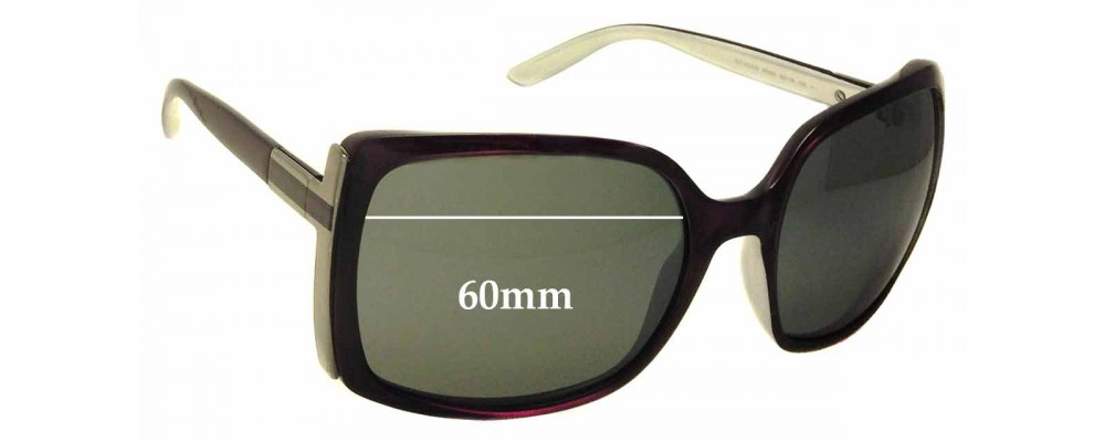 Sunglass Fix Sunglass Replacement Lenses for Gucci GG 3128/S - 60mm Wide