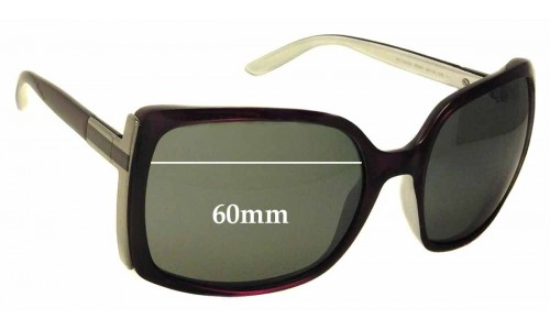 Sunglass Fix Sunglass Replacement Lenses for Gucci 3128/S - 60mm wide