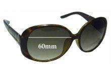 Sunglass Fix Sunglass Replacement Lenses for Gucci GG3550/K/S - 60mm Wide