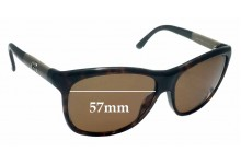 Sunglass Fix Sunglass Replacement Lenses for Gucci GG 3613/S - 57mm Wide