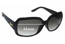 Sunglass Fix Sunglass Replacement Lenses for Gucci GG 3622/F/S - 61mm Wide