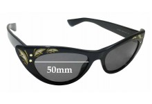 Sunglass Fix Sunglass Replacement Lenses for Gucci GG 3807/S - 50mm Wide