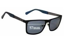 Sunglass Fix Sunglass Replacement Lenses for Guess GU6842 - 57mm Wide