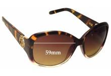 Sunglass Fix Sunglass Replacement Lenses for Guess GUP 2008 - 59mm Wide
