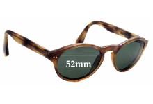 Sunglass Fix Sunglass Replacement Lenses for Hackett Bespoke HEB047 - 52mm Wide