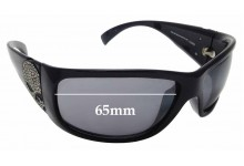 Sunglass Fix Sunglass Replacement Lenses for Harley Davidson HDS 8004 - 65mm Wide