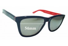 Sunglass Fix Sunglass Replacement Lenses for Hawkers El Ganso TR/SEL02  - 54mm Wide