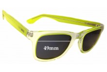 Sunglass Fix Sunglass Replacement Lenses for HIS HP38151 - 49mm Wide