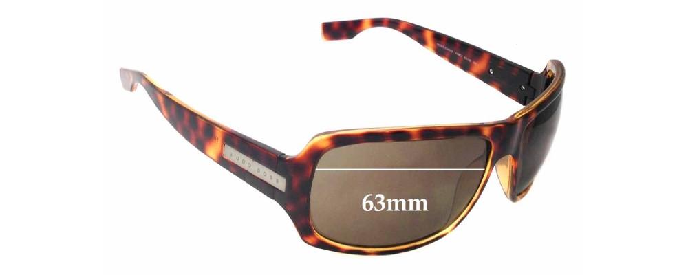 f74280afa8b2 Sunglass Fix Sunglass Replacement Lenses for Hugo Boss 0340/S - 63mm wide