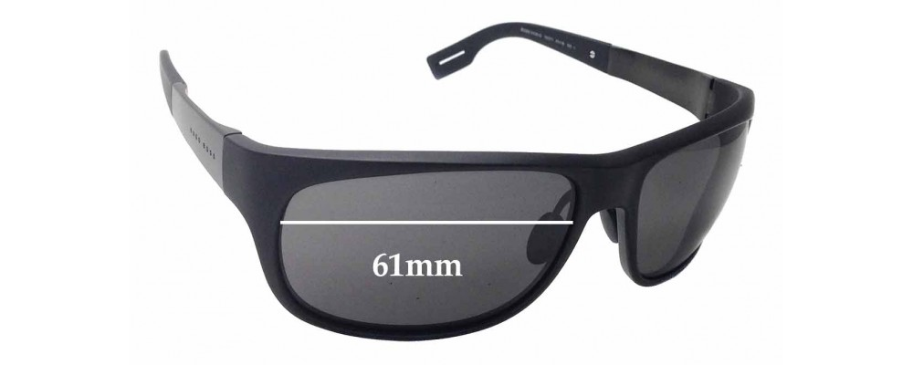 642f1f86fbe7 Sunglass Fix Sunglass Replacement Lenses for Hugo Boss 0439/S - 61mm wide