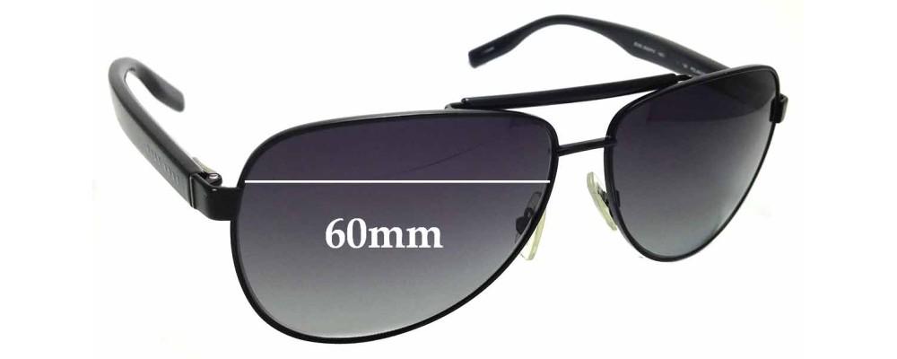 124239e26e Sunglass Fix Sunglass Replacement Lenses for Hugo Boss 0542 P S - 60mm wide