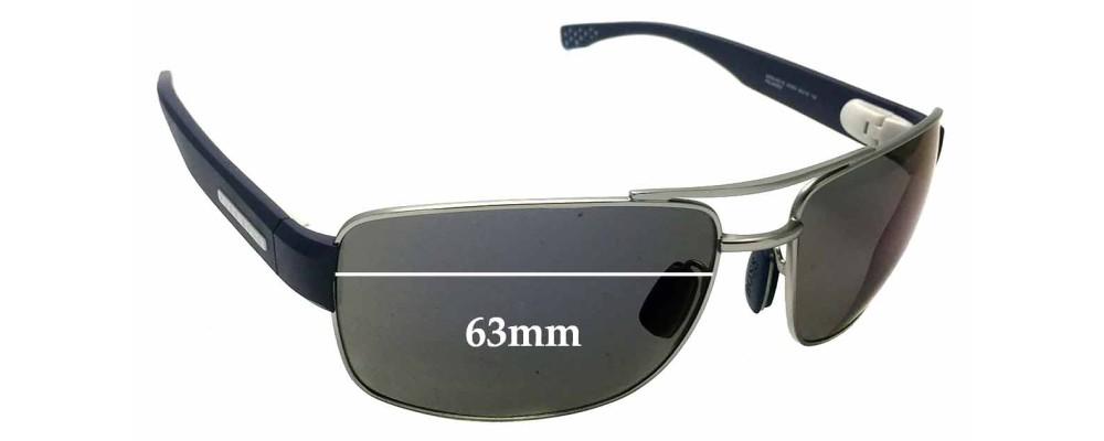 6760eb9c5ef3 Sunglass Fix Sunglass Replacement Lenses for Hugo Boss 0801/S - 63mm wide