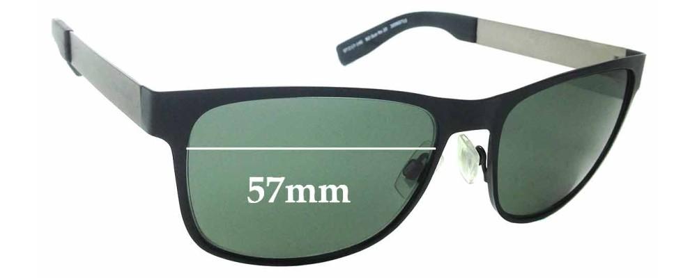 861978f38269 Sunglass Fix Sunglass Replacement Lenses for Hugo Boss BO Sun Rx 20 - 57mm  wide
