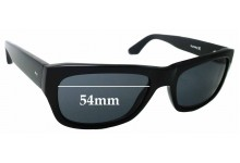 Sunglass Fix Sunglass Replacement Lenses for Hurley Cell Block - 54mm Wide