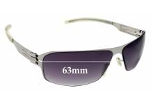 Sunglass Fix Sunglass Replacement Lenses for IC! Berlin Garri K. - 63mm Wide