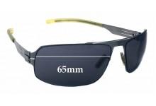 Sunglass Fix Sunglass Replacement Lenses for IC! Berlin Matsu - 65mm Wide