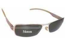 Sunglass Fix Sunglass Replacement Lenses for IC! Berlin Valentin - 54mm Wide