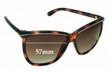 Sunglass Fix Sunglass Replacement Lenses for Iceberg IC602 - 57mm Wide