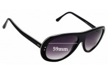 Sunglass Fix Sunglass Replacement Lenses for Iceberg IG 85251 - 59mm Wide