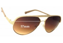 Sunglass Fix Sunglass Replacement Lenses for Jason Wu Faye - 57mm Wide