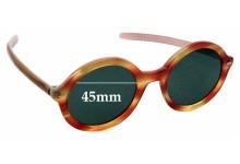 Sunglass Fix Sunglass Replacement Lenses for Jean Lafont Dunes 810 - 45mm Wide