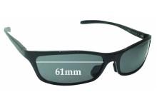 Sunglass Fix Sunglass Replacement Lenses for Jonathan Paul JPS01 - 61mm Wide
