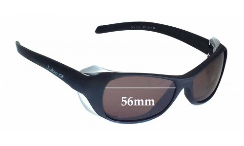 Sunglass Fix Sunglass Replacement Lenses for Julbo Dolgan - 56mm Wide