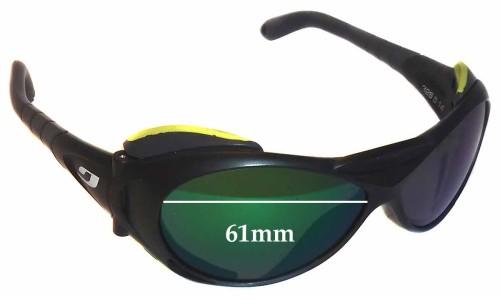 Sunglass Fix Sunglass Replacement Lenses for Julbo Explorer 326 - 61mm Wide