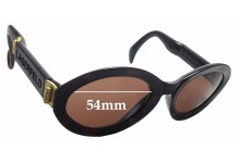 Sunglass Fix Sunglass Replacement Lenses for Karl Lagerfeld 4106 - 54mm Wide