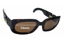Sunglass Fix Sunglass Replacement Lenses for Karl Lagerfeld 4120 - 54mm Wide
