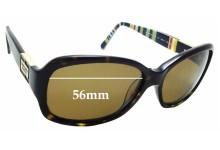 Sunglass Fix Sunglass Replacement Lenses for Kate Spade Annika/P/S - 56mm Wide