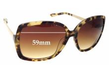 Sunglass Fix Sunglass Replacement Lenses for Kate Spade Darryl/S - 59mm Wide