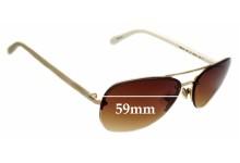 Sunglass Fix Sunglass Replacement Lenses for Kate Spade Beryl/S - 59mm Wide